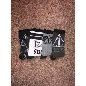 Harry Potter Calf Socks - NWOT